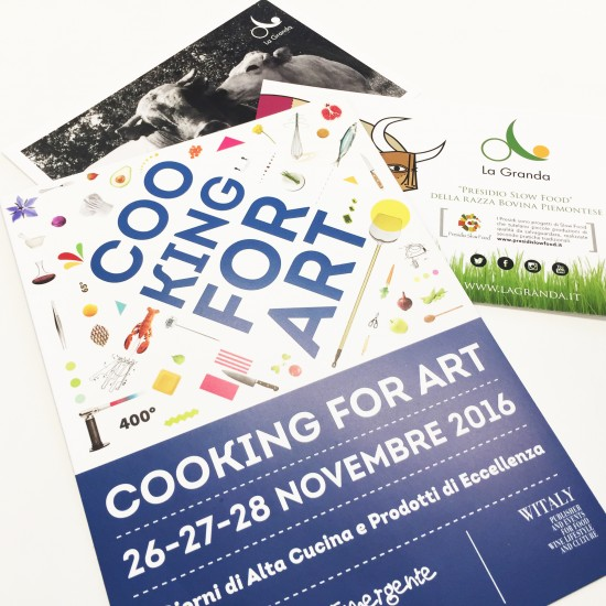 Cooking for Art 2016 - Lume